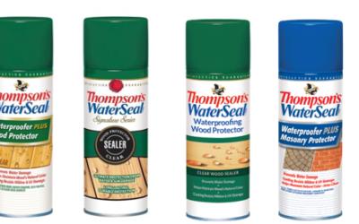 The Thompson's Company Recalls Aerosol Waterproofing Wood and Masonry Protectors Due to Fire Hazard