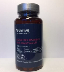 The Vitamin Shoppe Recalls Vthrive Bioactive Multivitamins